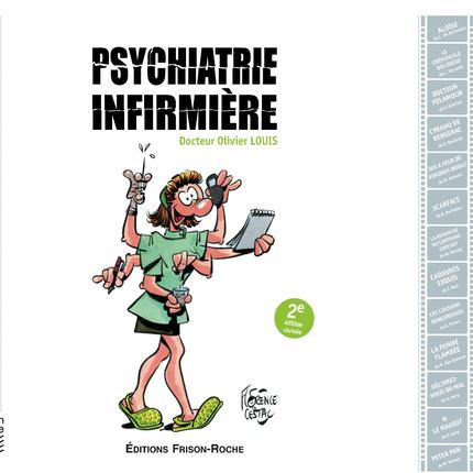 Psychiatrie infirmiere - Olivier Louis - Editions Frison-Roche