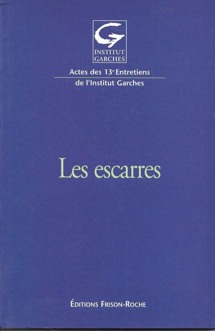 Les escarres - Alain Lortat-Jacob - Editions Frison-Roche